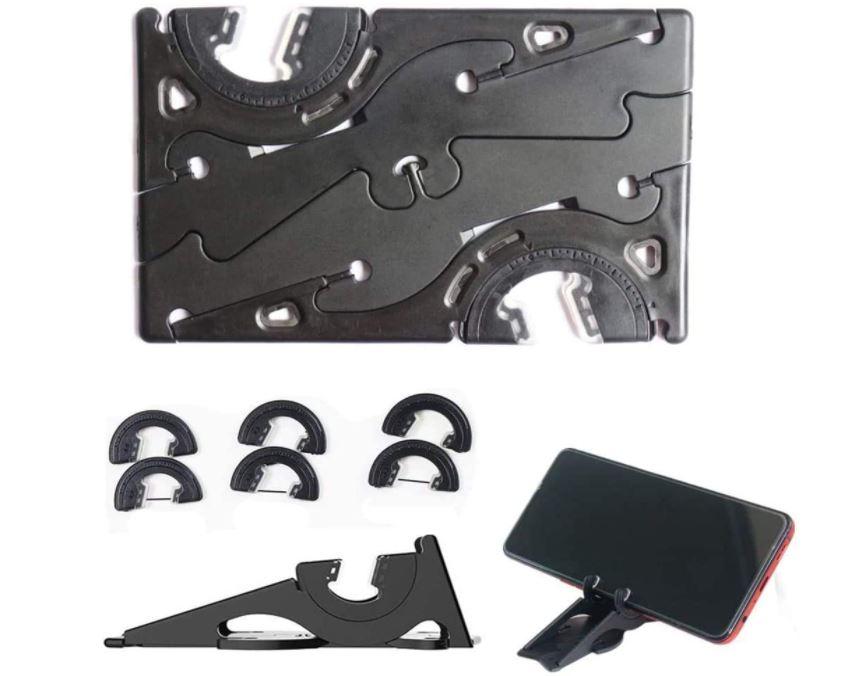 折り畳み式電話ホルダー カードタイプ